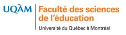 Logo Faculté des sciences de l'éductation UQAM